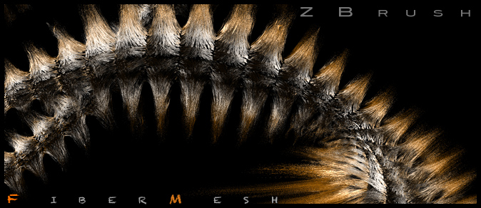 ZBrush R4_Fiber_Mesh