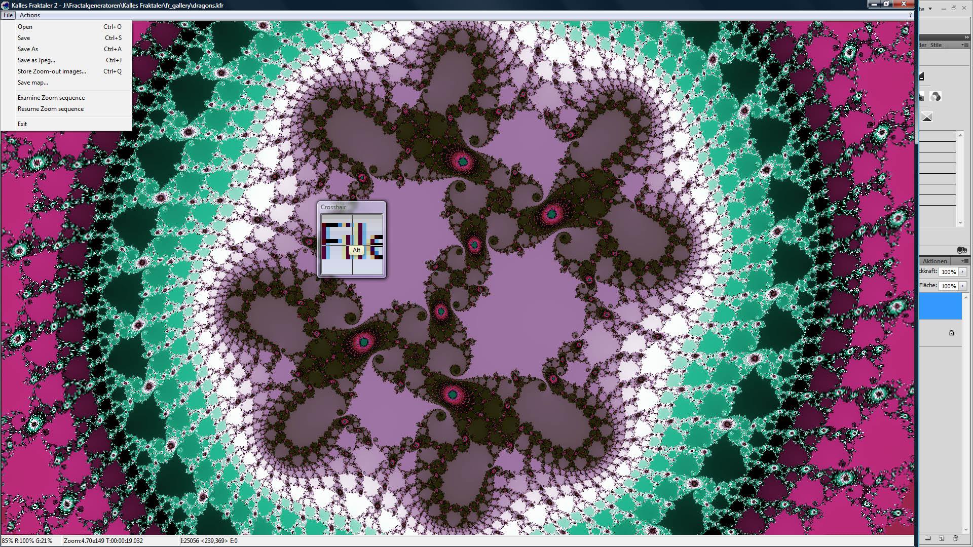CP kalles fractaler screenshot2