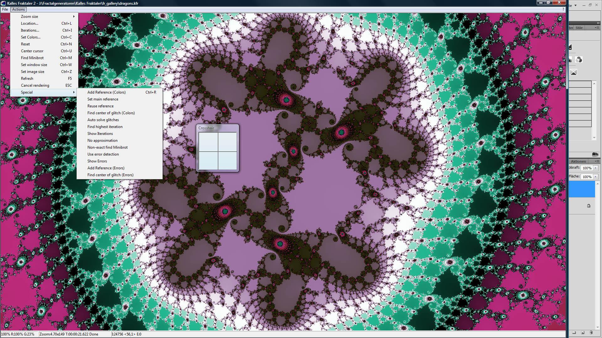 CP kalles fractaler screenshot3