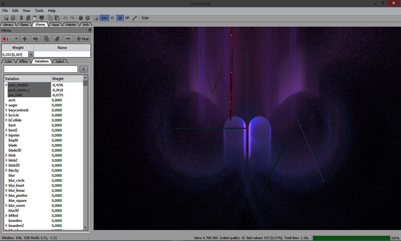 Fractorium Screenshot