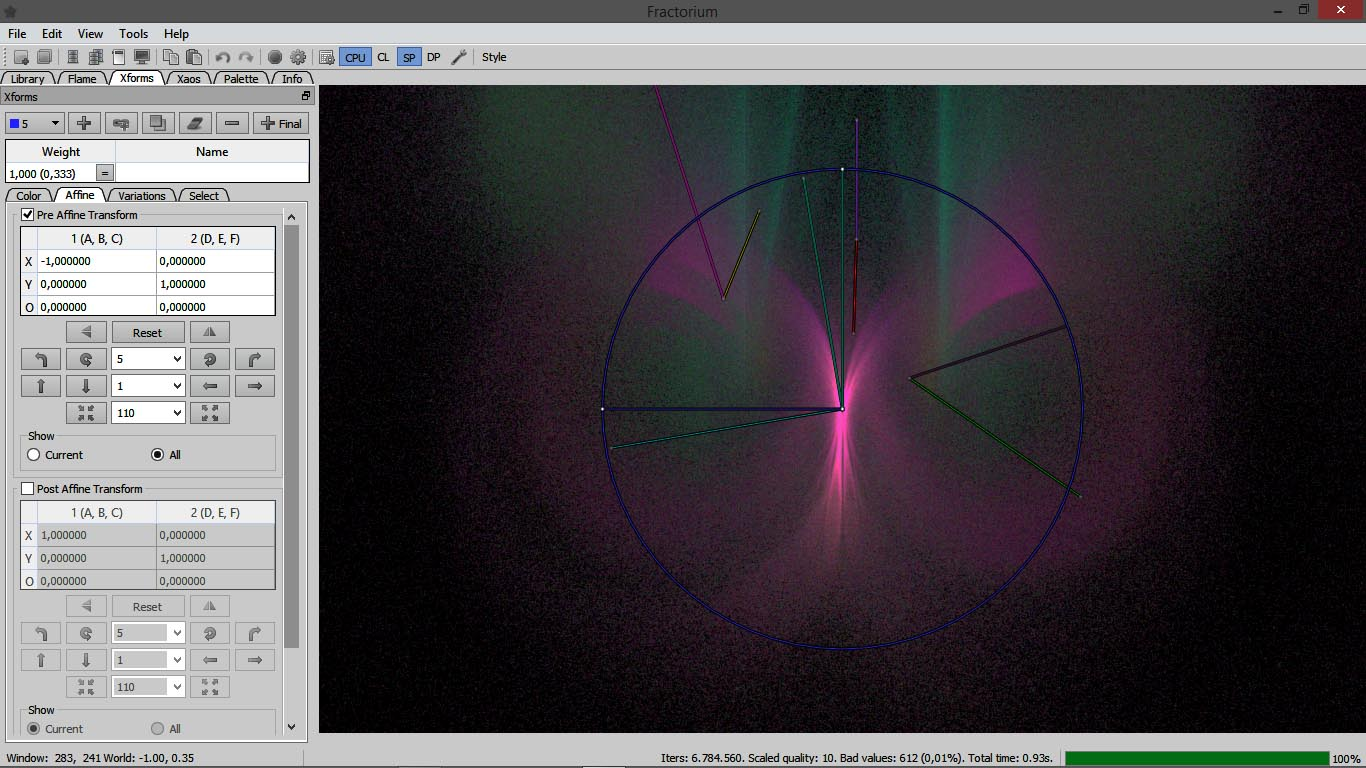 Fractorium Screenshot-3