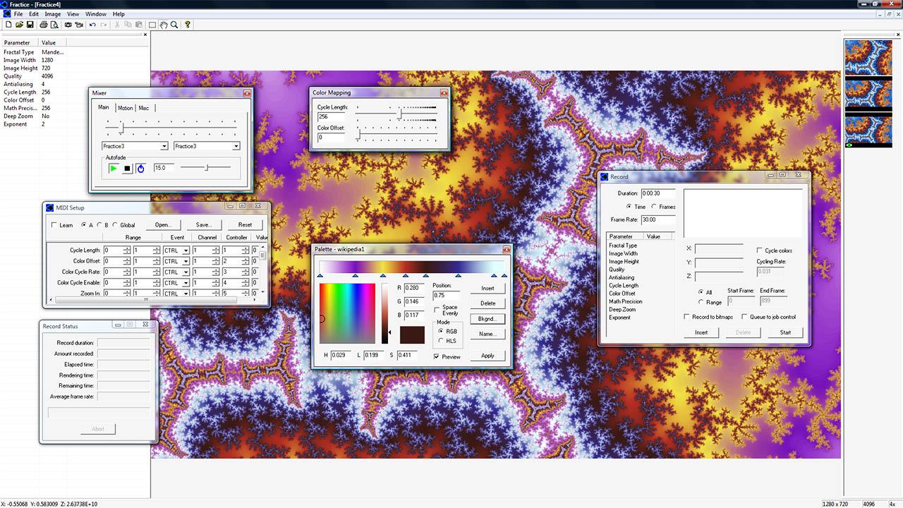 Fractrice-screenshot