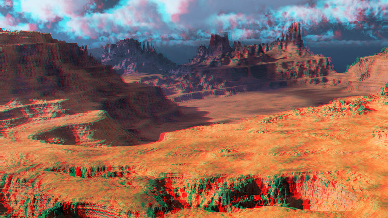 Photoshop Red/Cyan Anaglyph with Z-Buffer