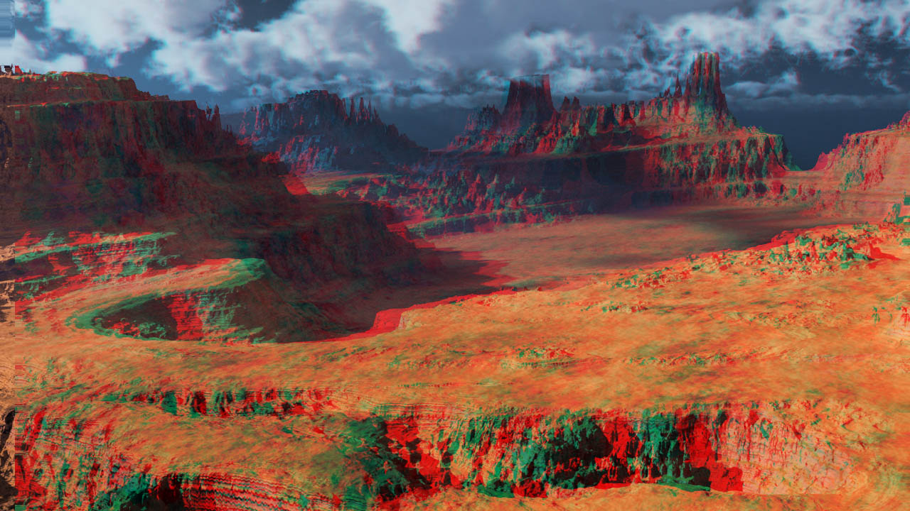 Photoshop Red/Cyan Anaglyph with Z-Buffer and Stereo Photo Maker