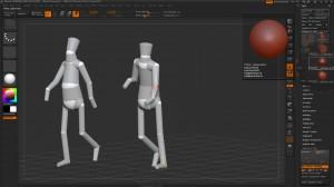 ZBrush Mannequin aus einem 3D Polymesh