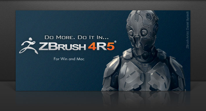 ZBrush 4R5 Banner