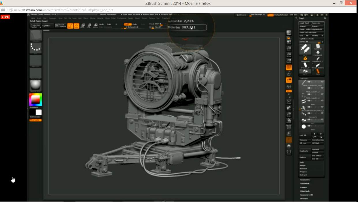 ZBrush New Version Polymodeling5AZBrush New Version Polymodeling5A