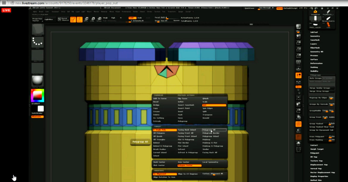 ZBrush New Version Polymodeling5A