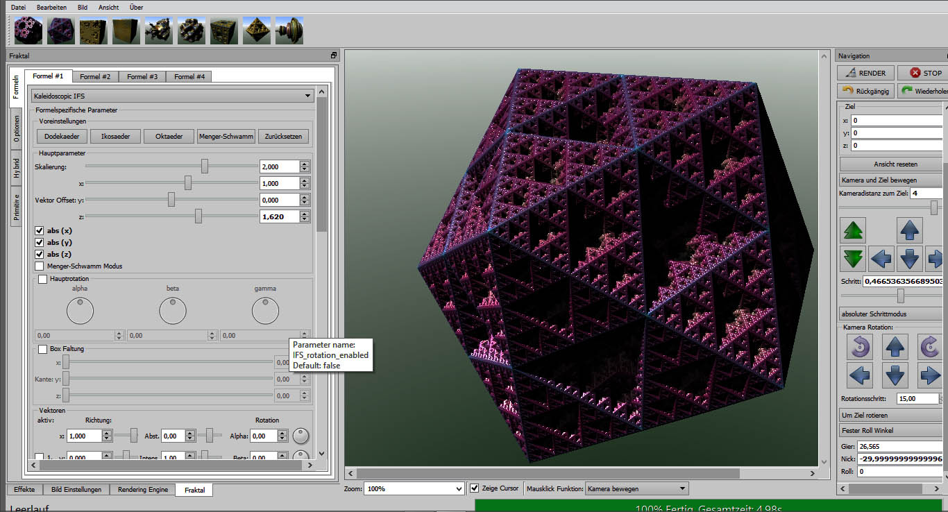 Mandelbulber V2 Screenshot 1