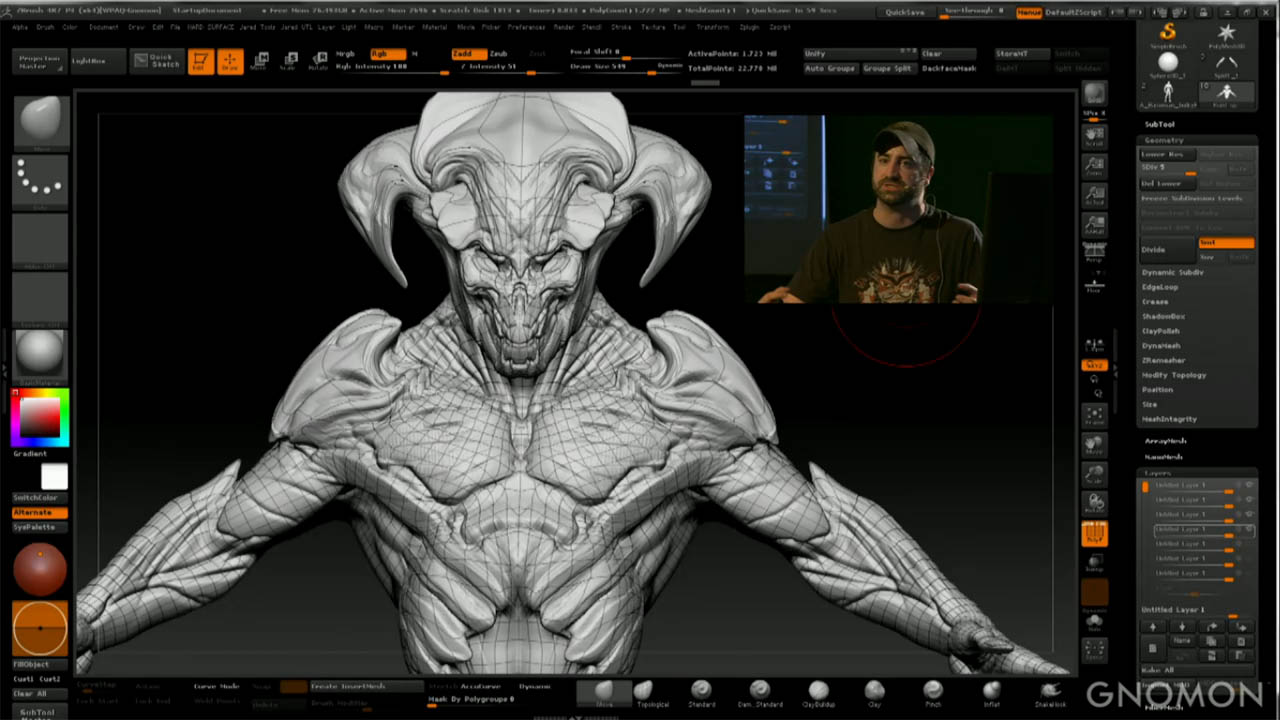 Jared Krichevsky at Gnomon School