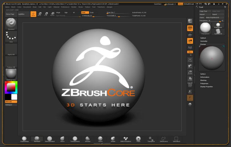 ZBrush Core