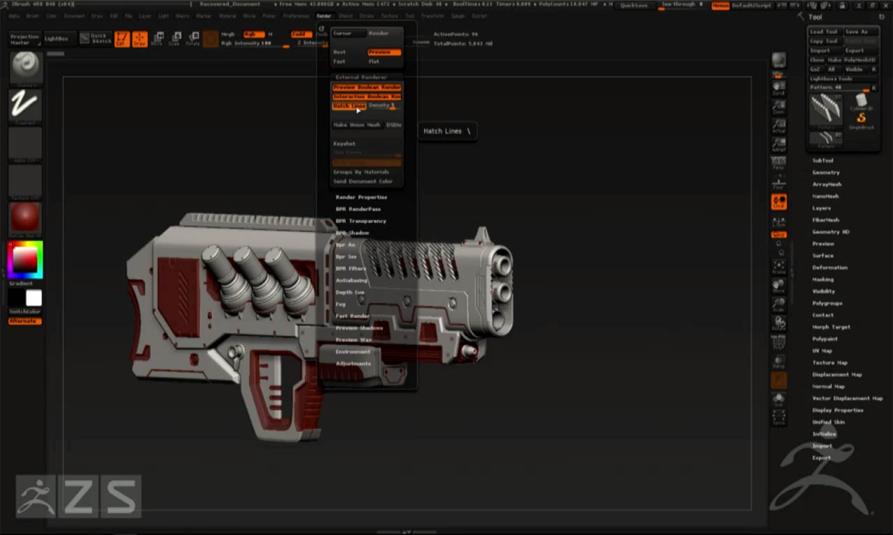 zbrush-4r8-arraymesh-boolean-1