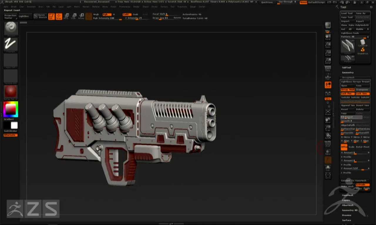 zbrush-4r8-arraymesh-boolean-2