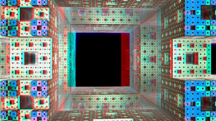 Red/Cyan Stereoscopic CGI ZBrush