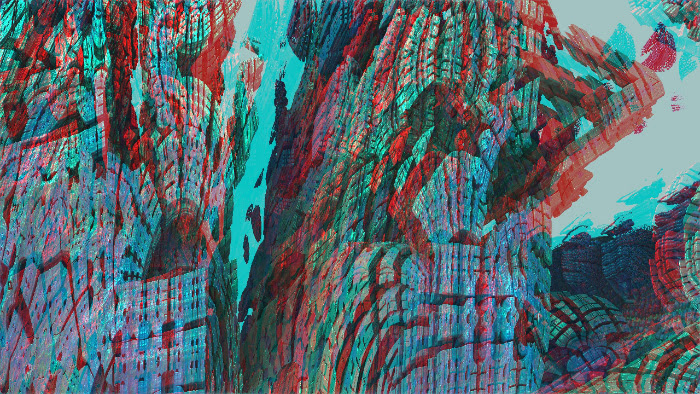 Red/Cyan Stereoscopic CGI