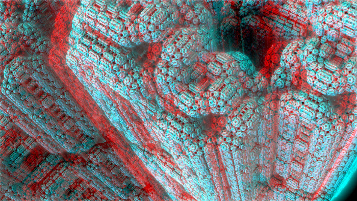 Red/Cyan Stereoscopic CGI
