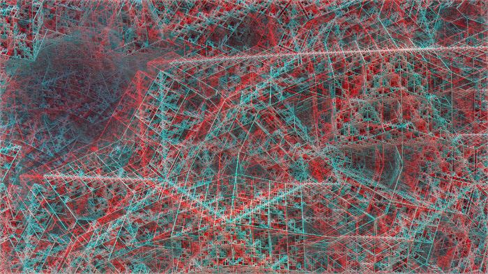 Red/Cyan Stereoscopic CGI Red/Cyan Stereoscopic CGI