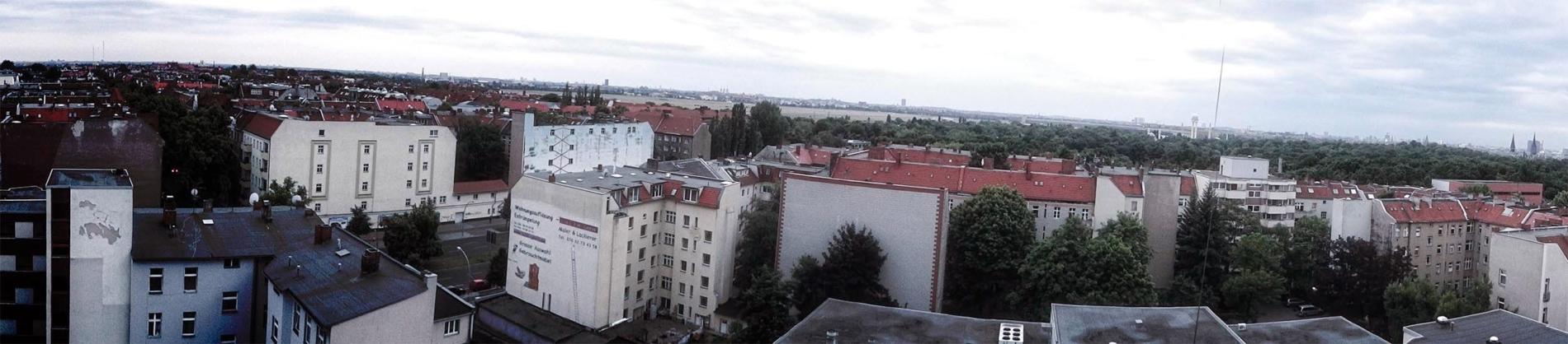 Aussicht Neukölln Panorama