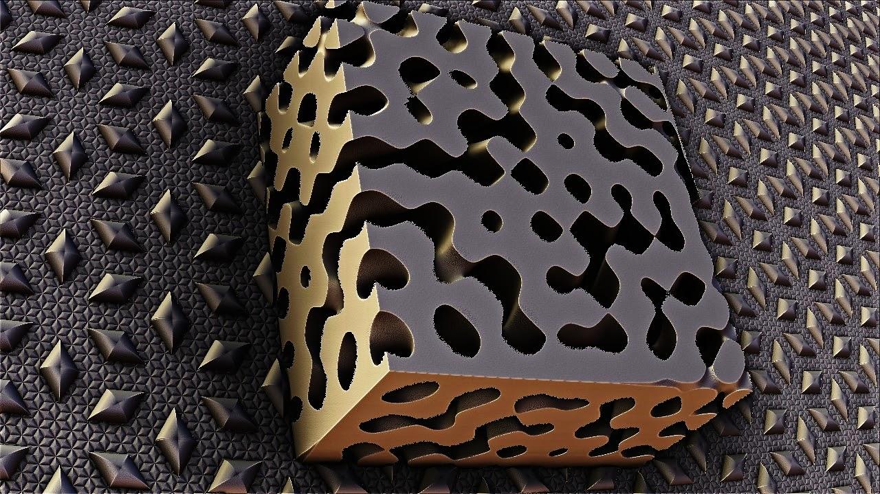 Mandelbulb 3D Fractal Menger meets speres3