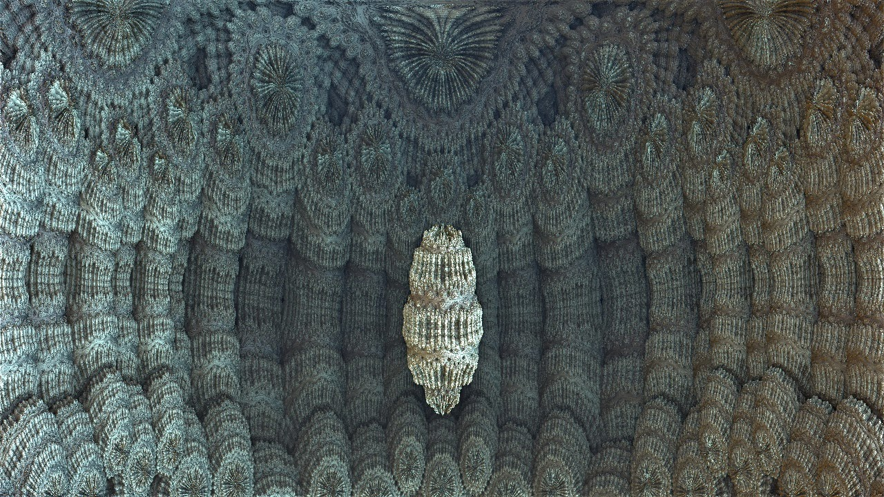 Mandelbulb 3D Fractal Townhall