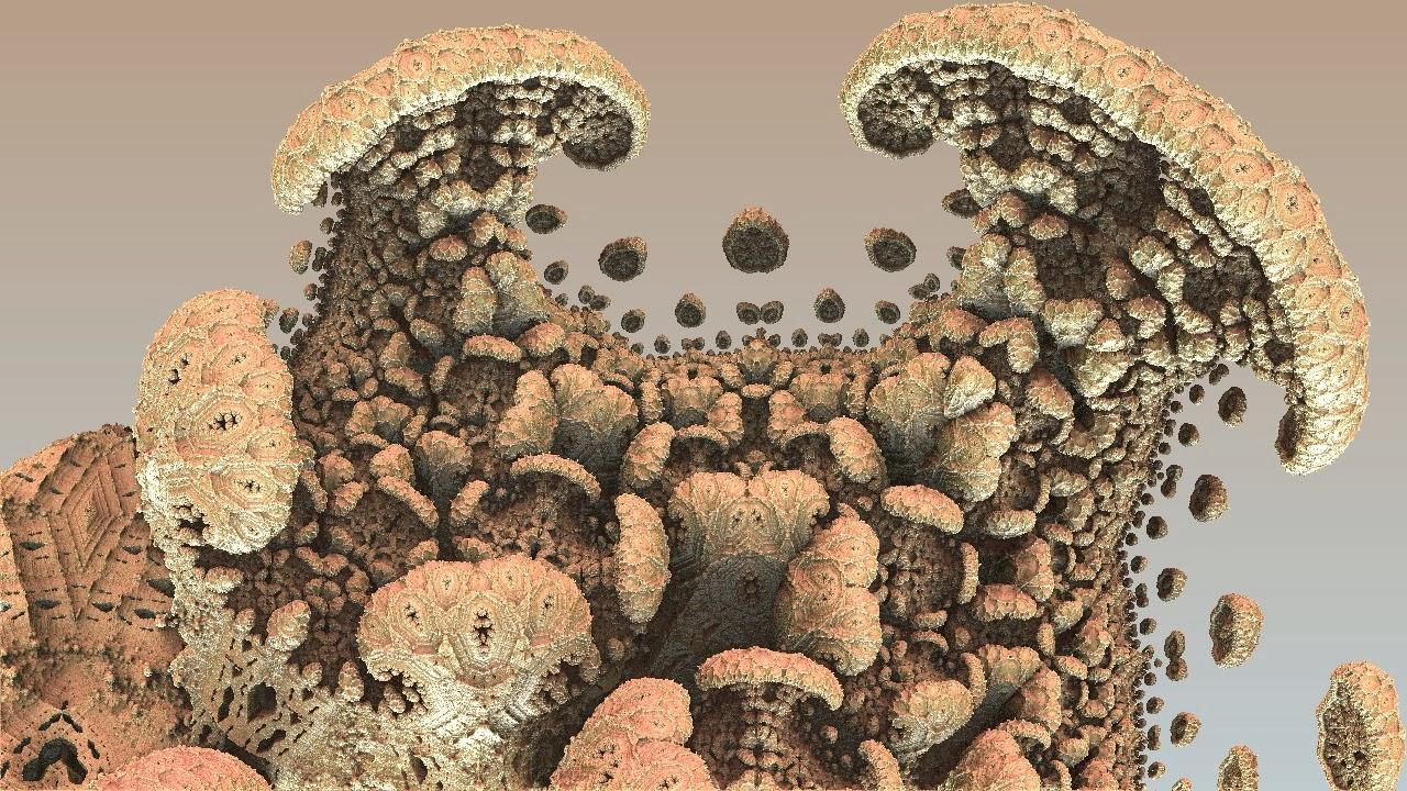 Mandelbulb 3D Fractal Menger PIlze