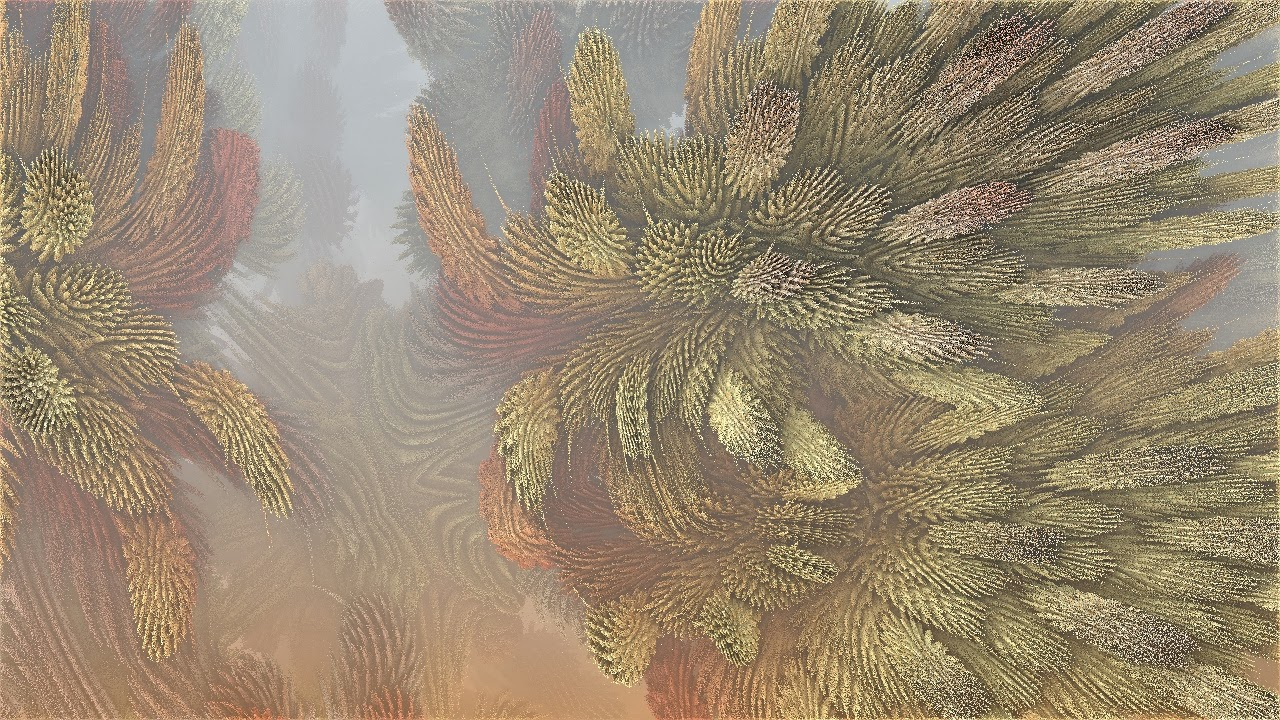 Mandelbulb 3D Fractal Tannenzapfen