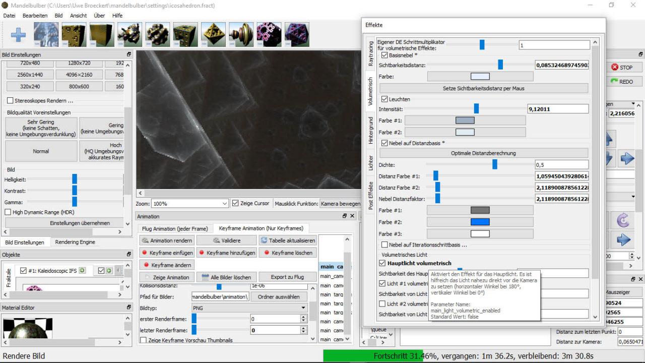 Mandelbulber_Effekte Palette einzeln