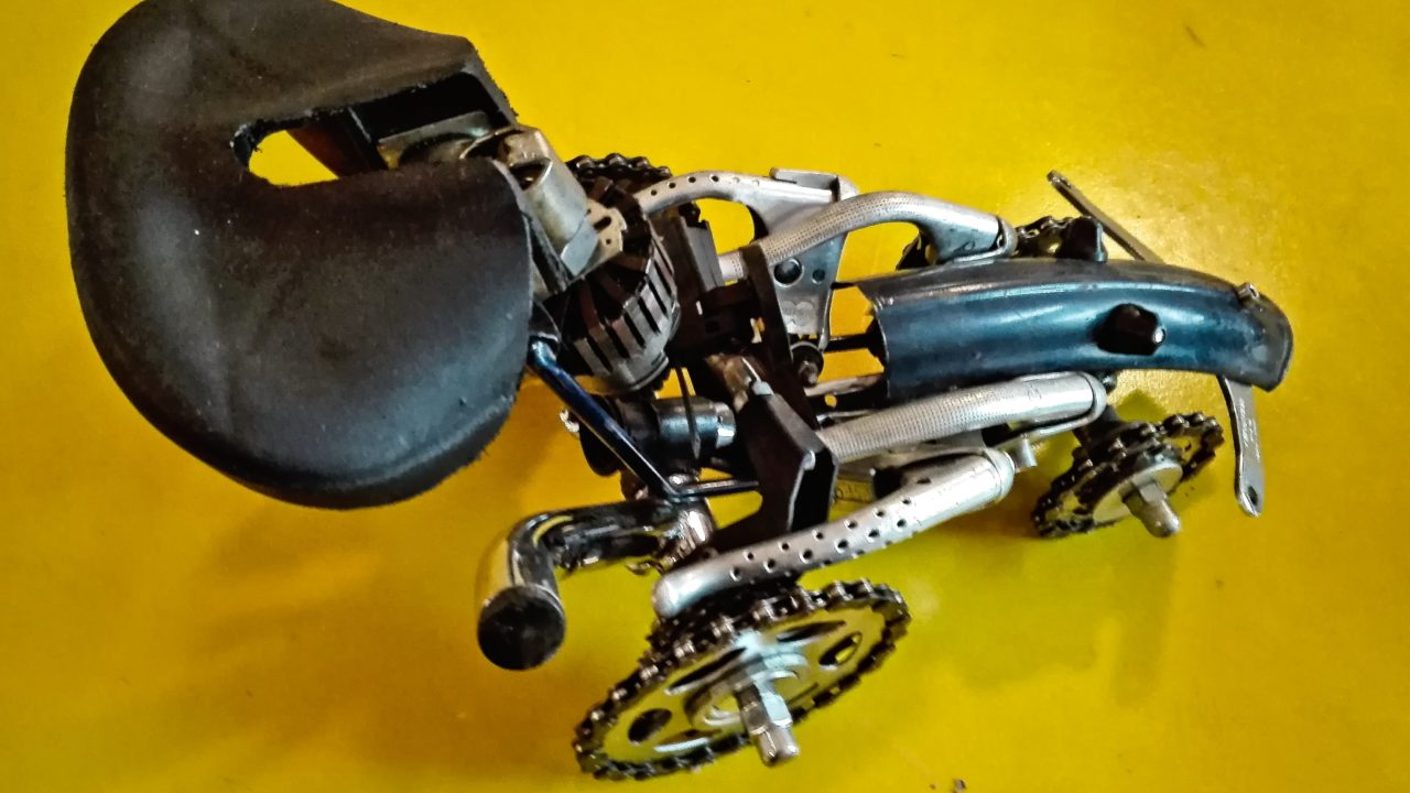 upcycling bicycle parts, Upcycling Fahrradteile