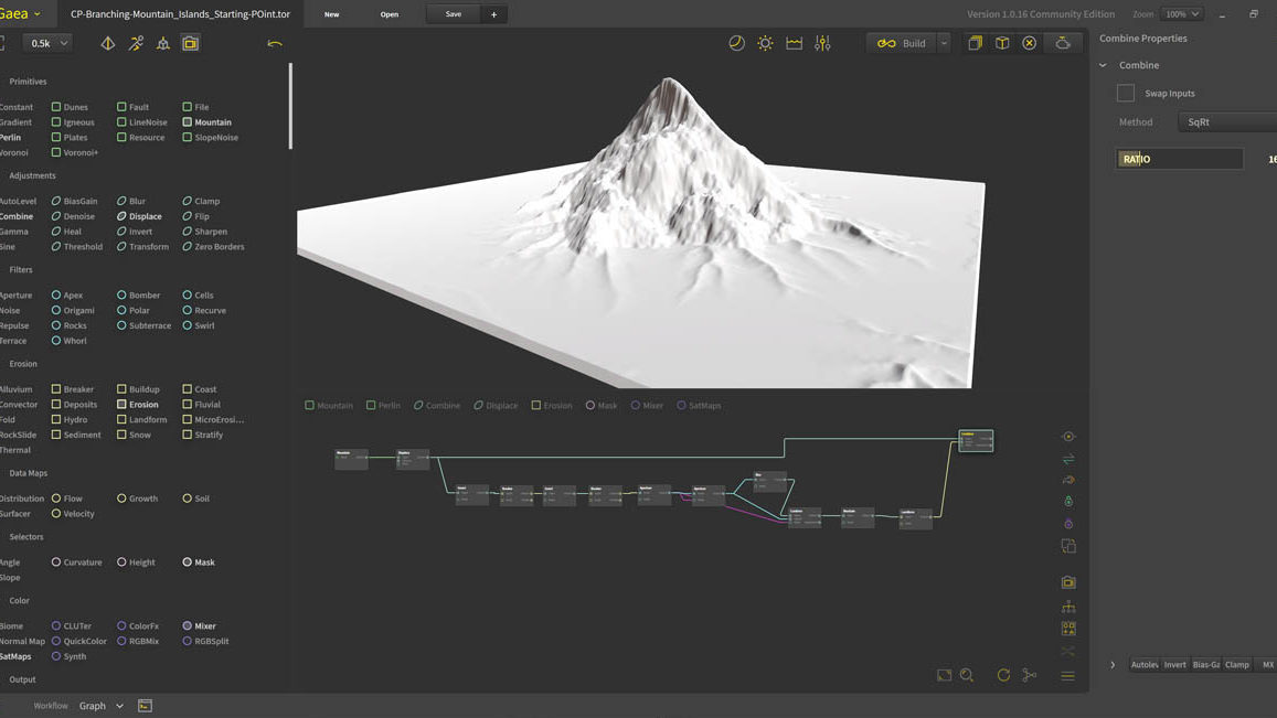 QuadSpinner Gaea Screenshot