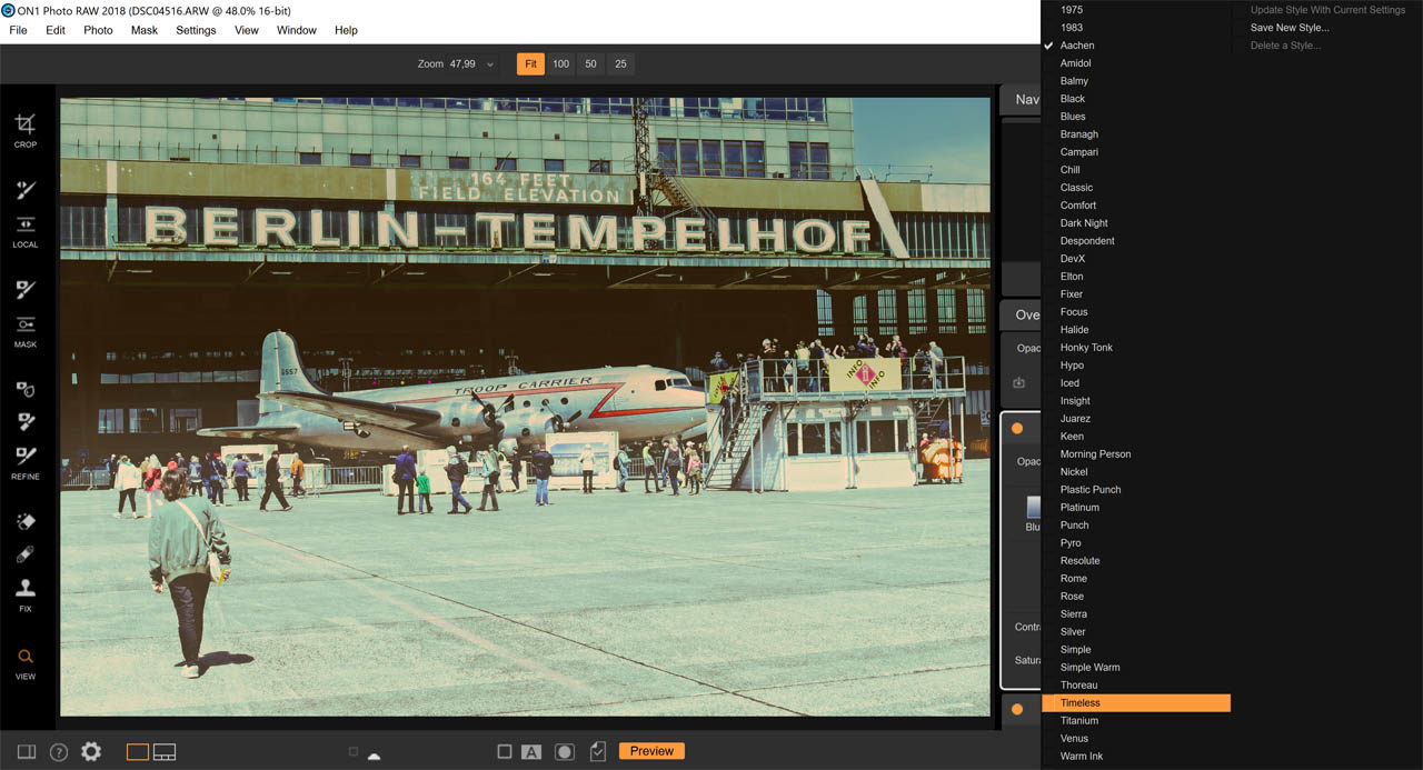 On1-Effects-2019-LUT Presets