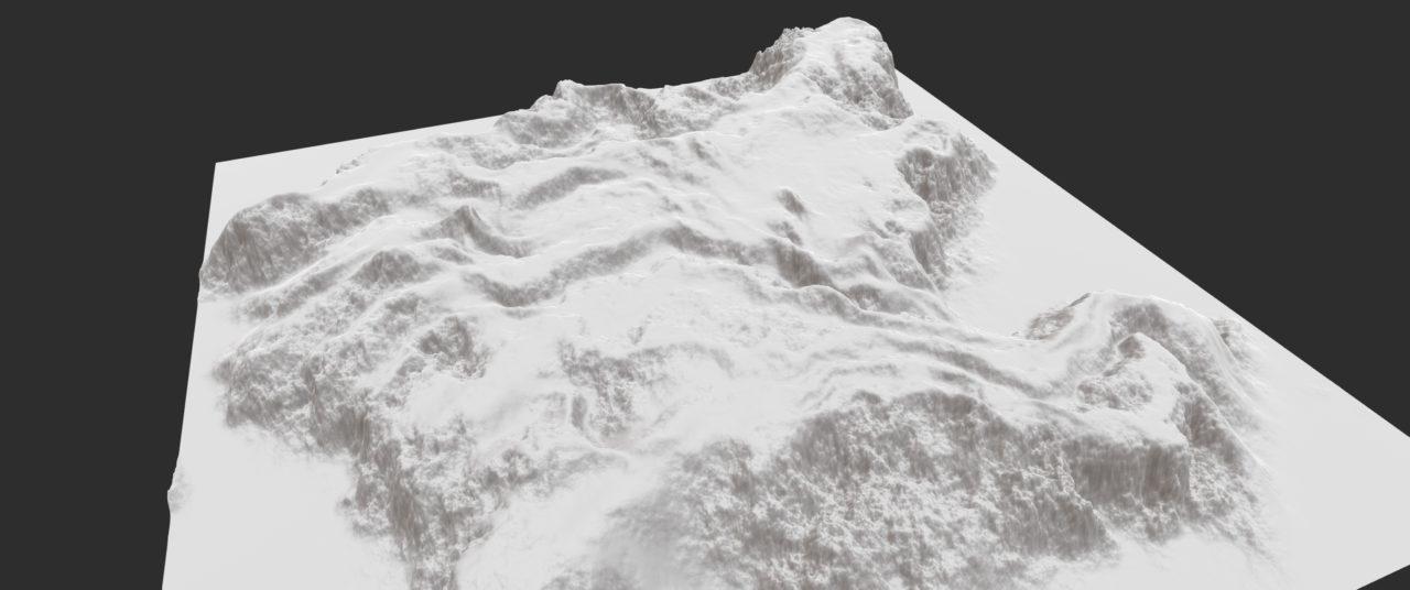 Gaea LineNoise Landform