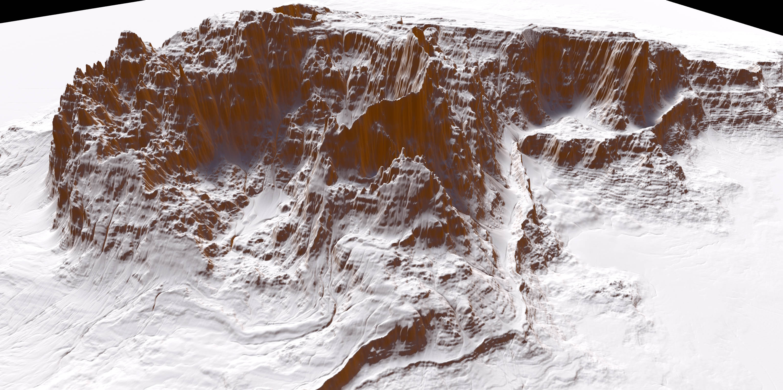 Gaea Landscape mountain rocks002-01