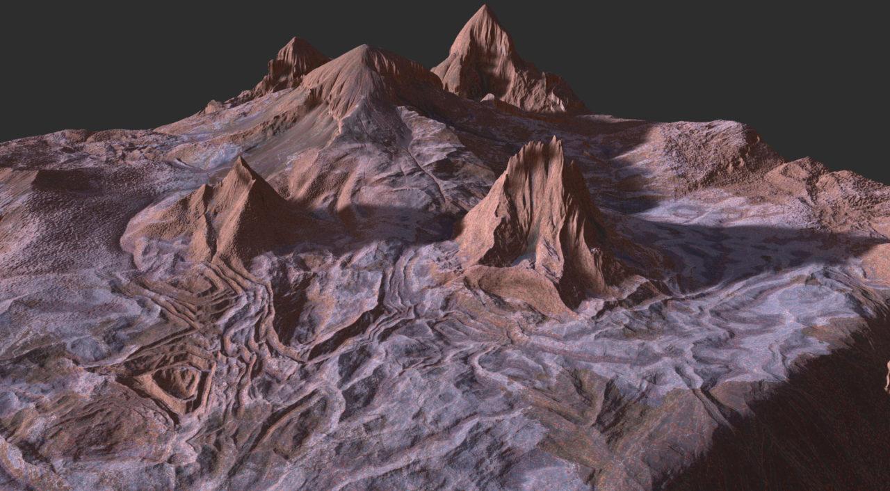 Gaea Bomber mountain