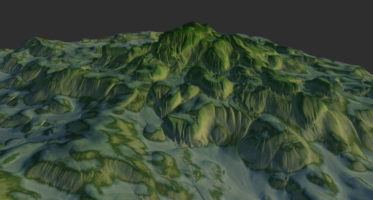 Quadspinner Gaea Landscape