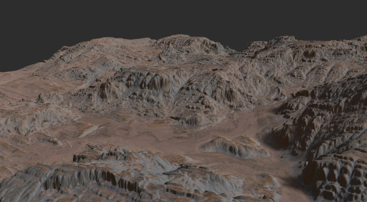 Gaea Landscape- Quadspinner Gaea