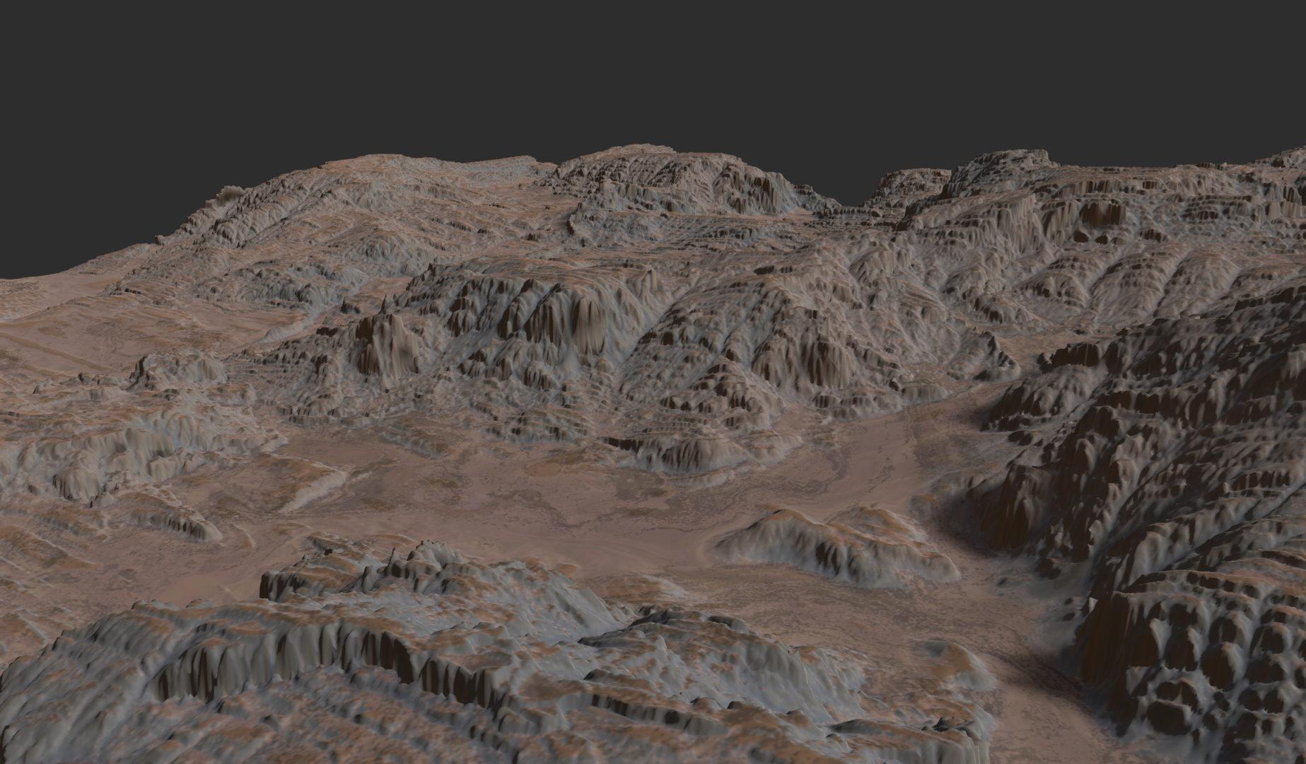 Gaea Landscape