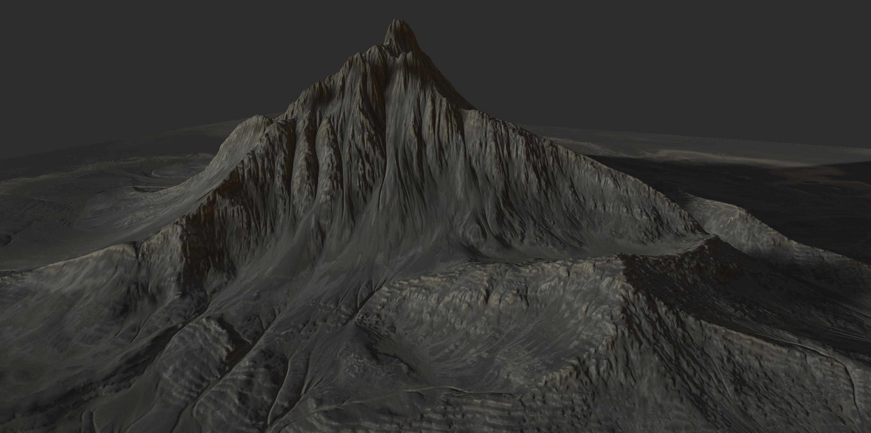 Gaea mountain-rocks