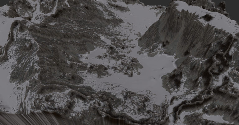 Gaea mountain-snow