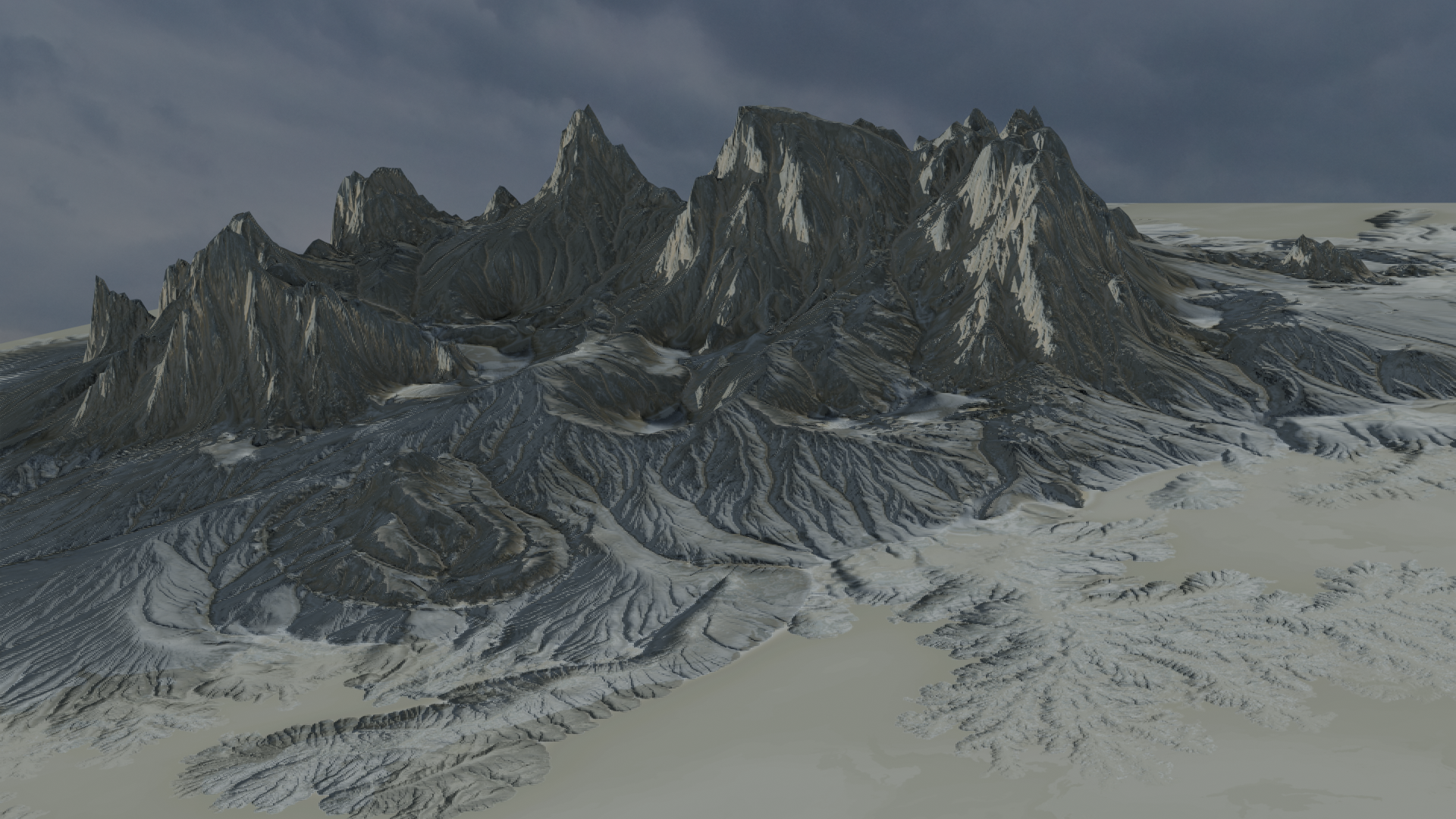 Gaea Blender 2.8 Rendering