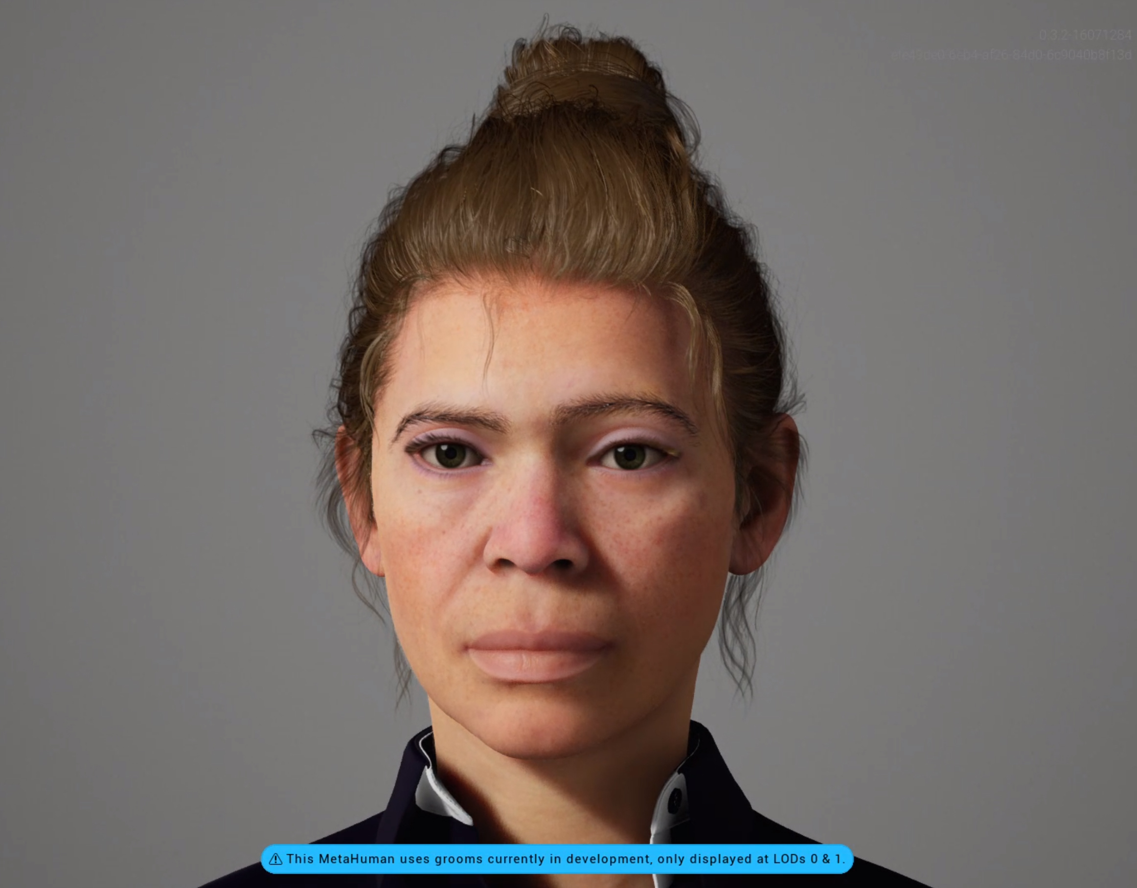 This is Ayleen a MetaHuman created with the Unreal Engine Metahuman Creator