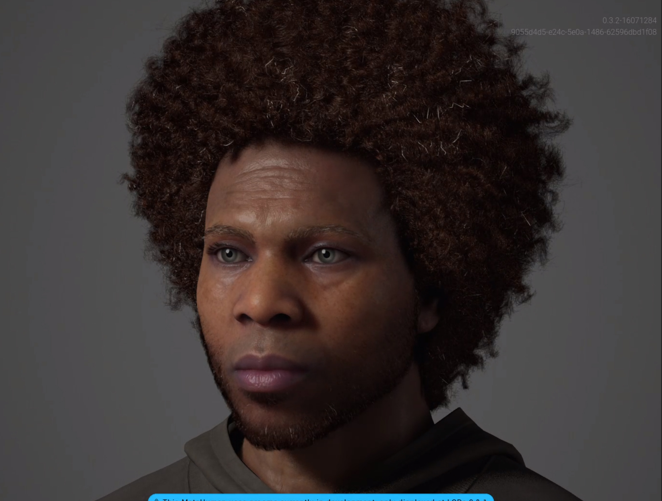This is Philip a MetaHuman created with the Unreal Engine Metahuman Creator