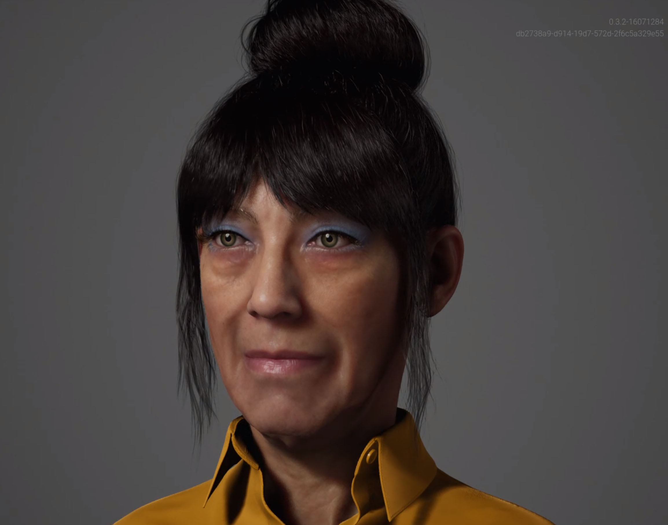 This is Ruth a MetaHuman created with the Unreal Engine Metahuman Creator