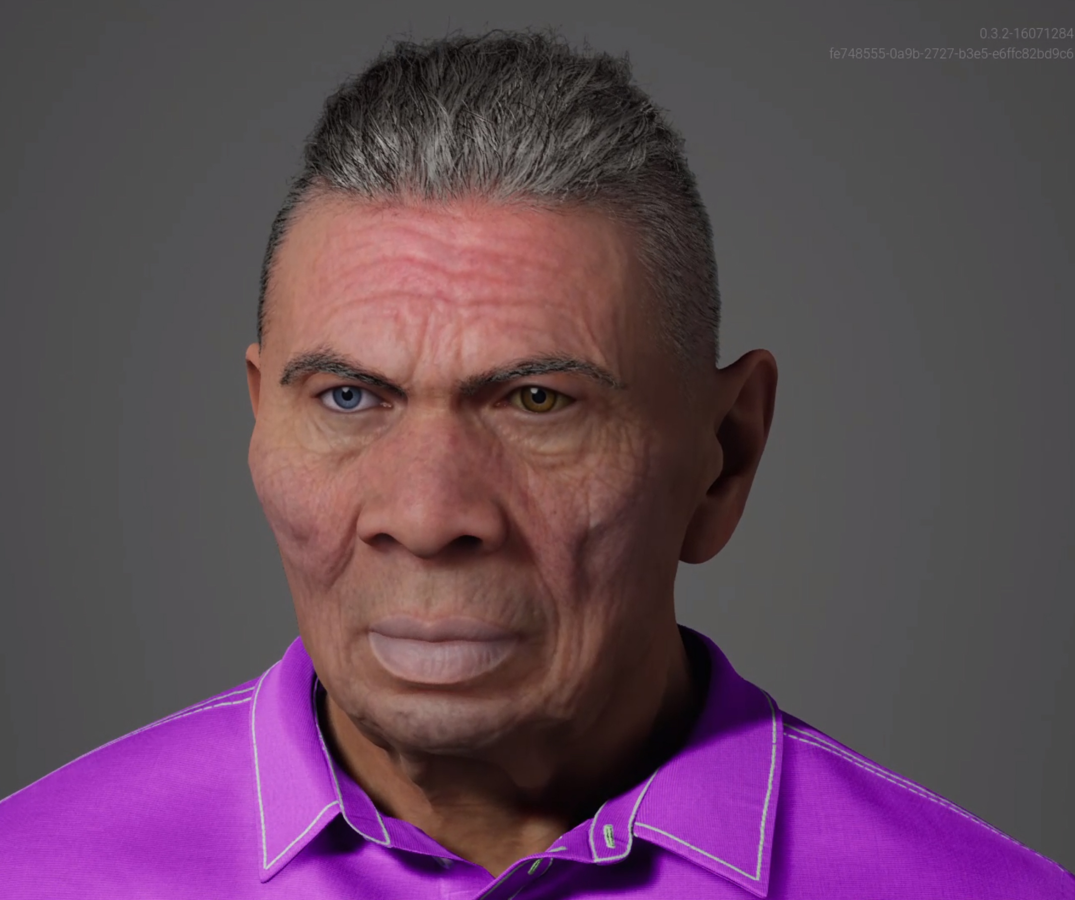 This is Herb a MetaHuman created with the Unreal Engine Metahuman Creator