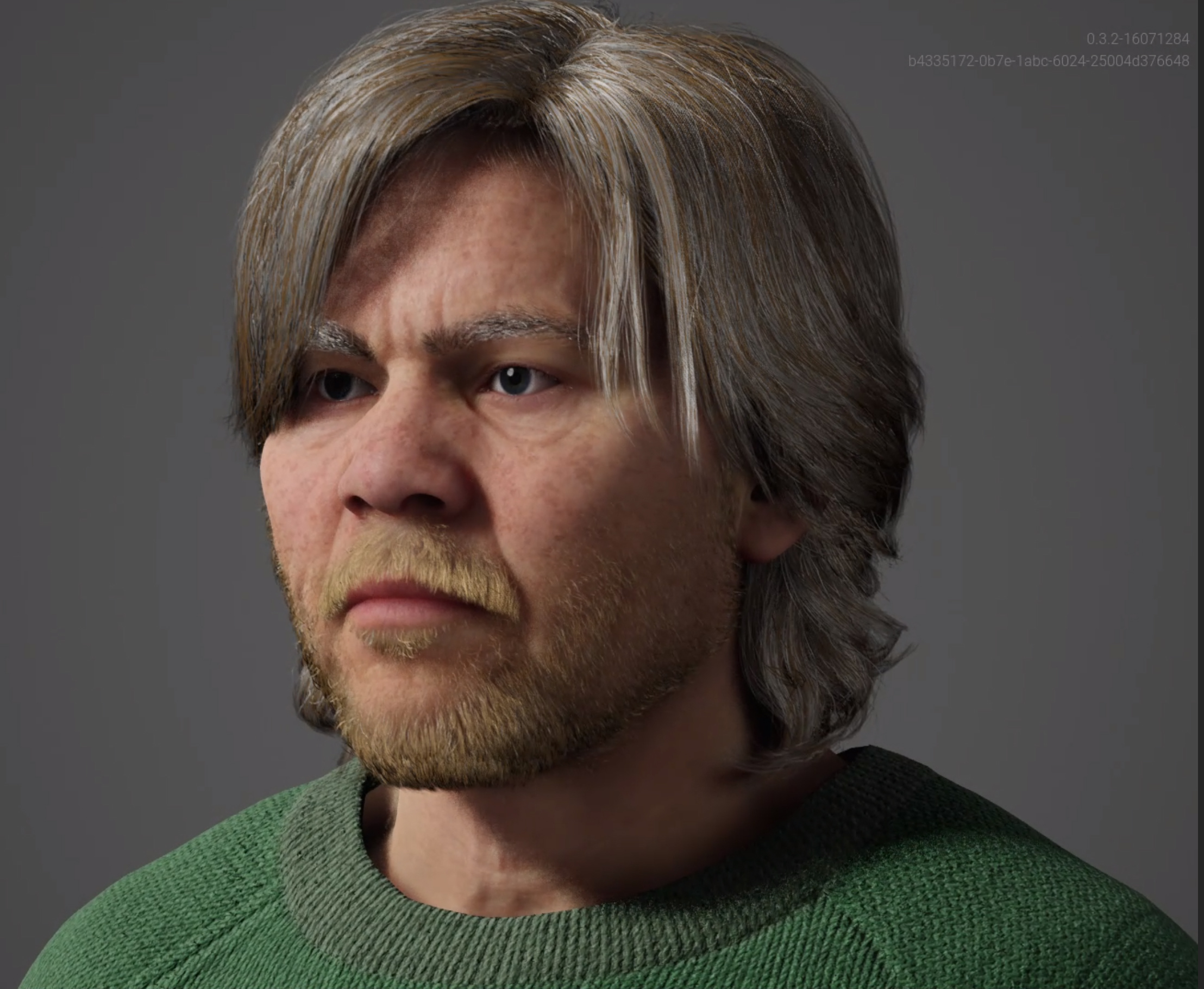 This is Gardener a MetaHuman created with the Unreal Engine Metahuman Creator