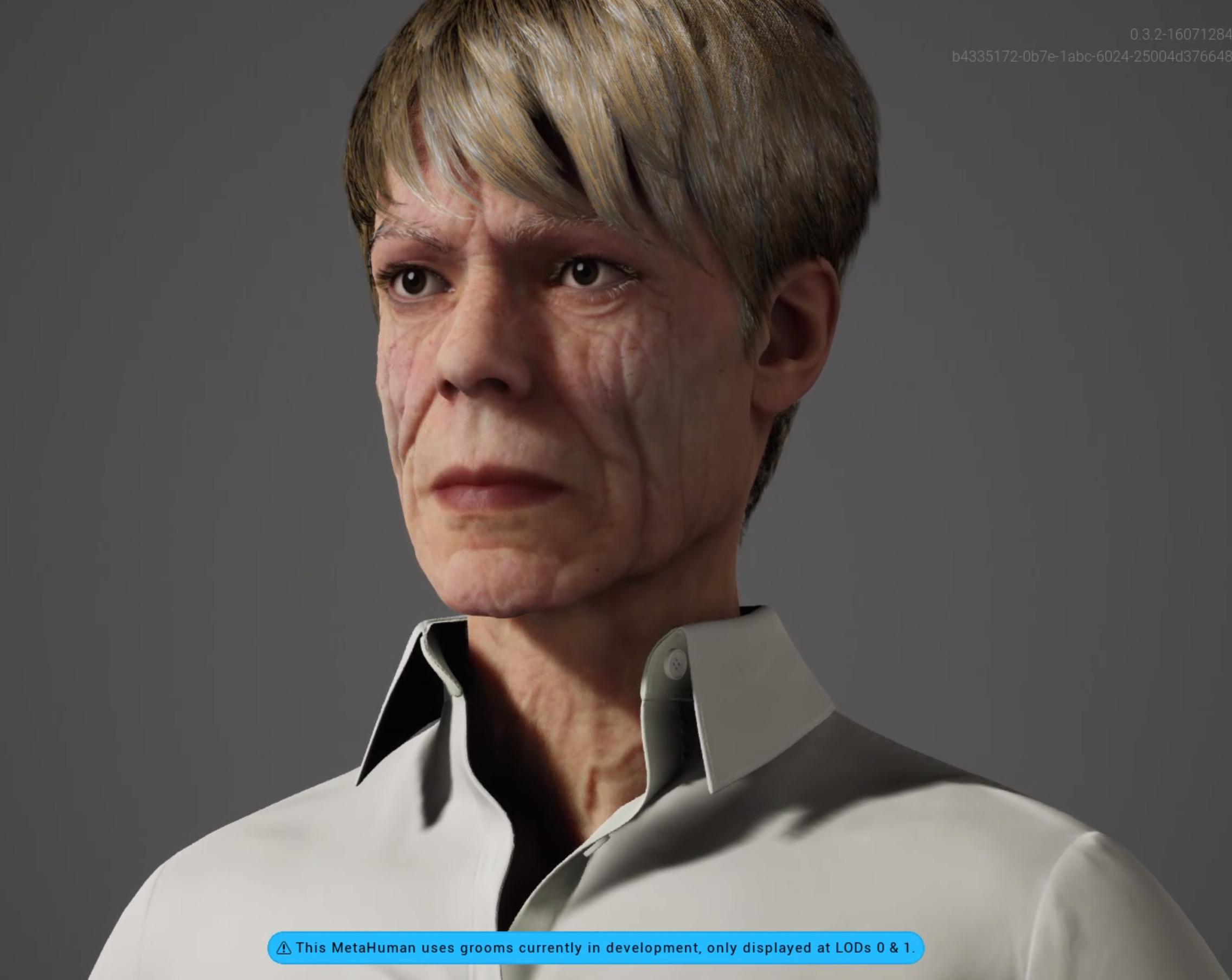 This is Calixia a MetaHuman created with the Unreal Engine Metahuman Creator