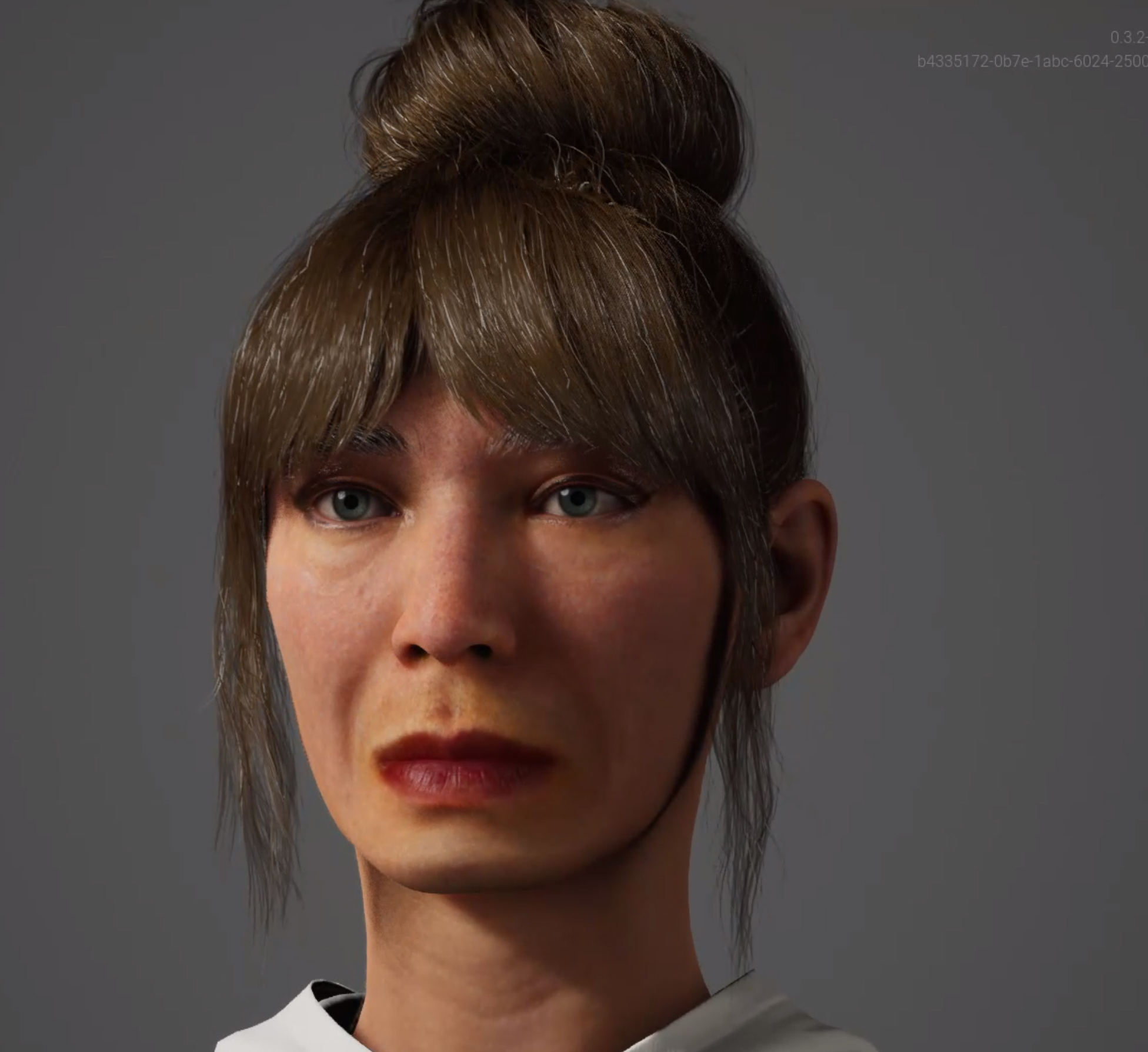 This is Amparo a MetaHuman created with the Unreal Engine Metahuman Creator