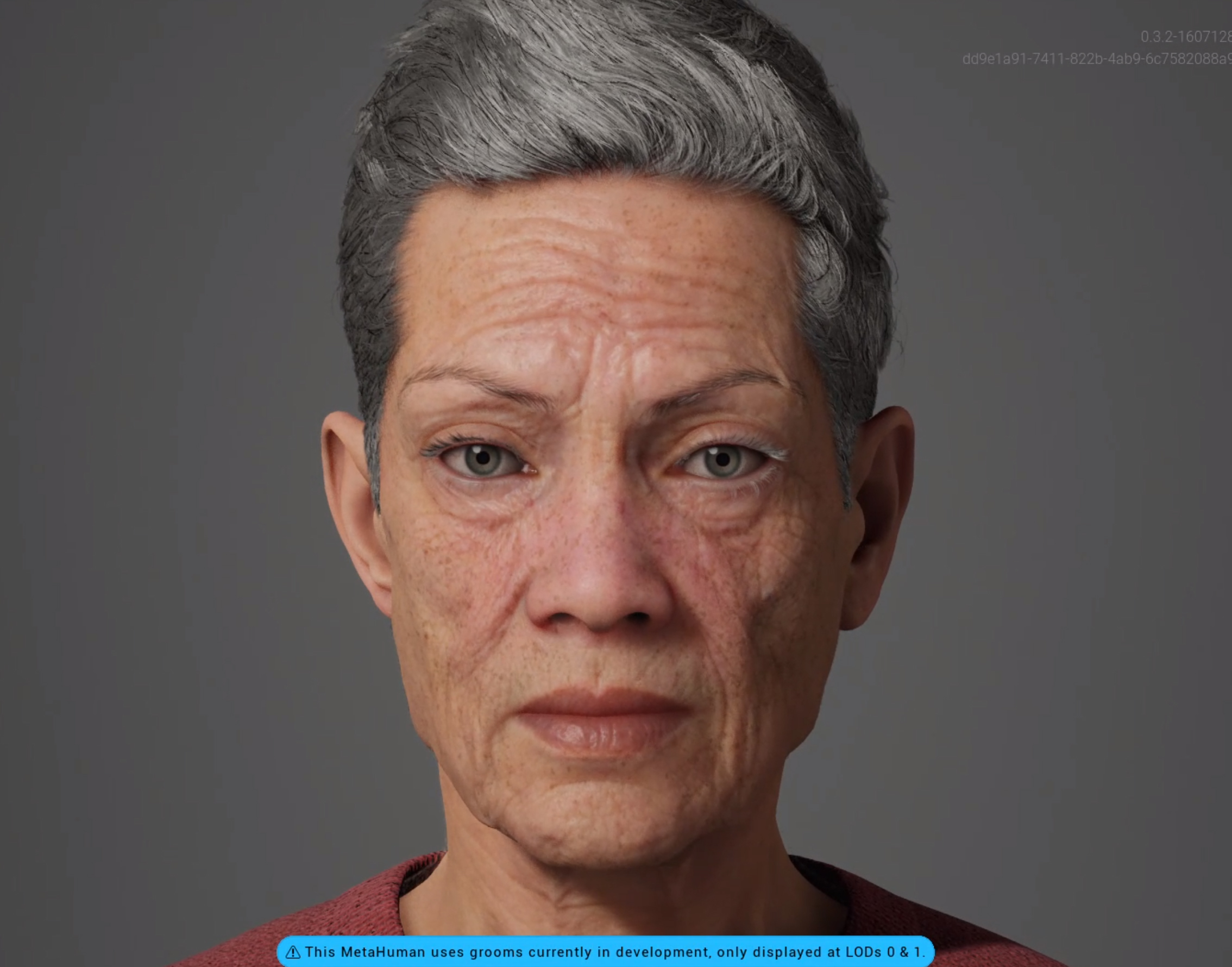 This is Rose a MetaHuman created with the Unreal Engine Metahuman Creator