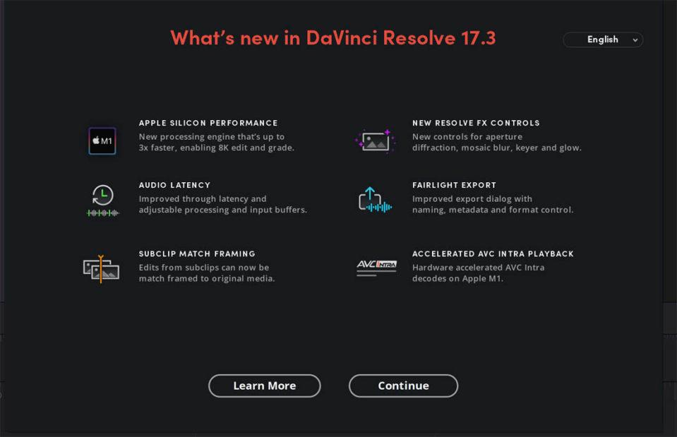 Blackmagic Design Davinci Resolve 17.3