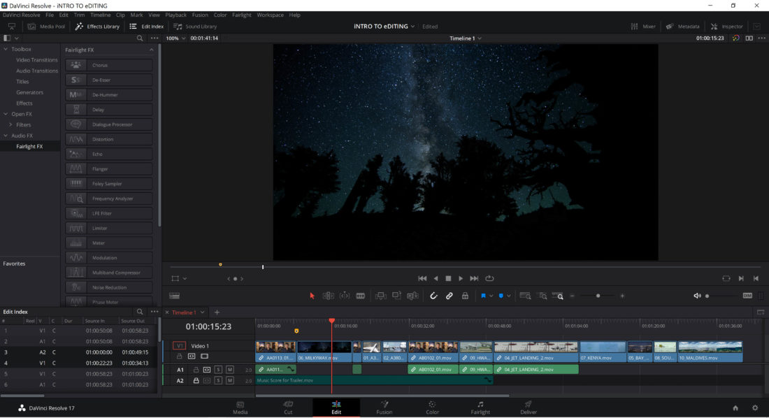 Blackmagic Design Davinci Resolve 17.3 Videoschnitt